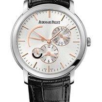 Audemars Piguet Jules Audemars Dual Time 18k White Gold...