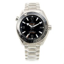 Omega Seamaster Stainless Steel Black Automatic 215.30.40.20.0...