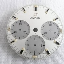 Enicar Chronograph Zifferblatt