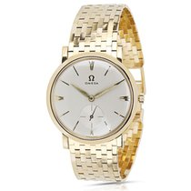 Omega Dress Dress Vintage Unisex Watch in 18k Yellow Gold
