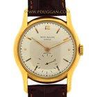 Patek Philippe 18k yellow gold vintage 1955 wristwatch