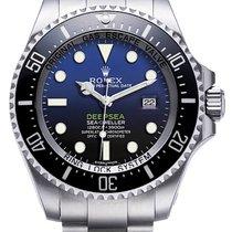 Rolex Pre-Owned Deepsea Custom Blue Dial 116660