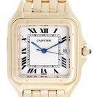 Cartier Panther 18k Yellow Gold Men's Quartz Watch with...