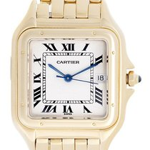 Cartier Panther 18k Yellow Gold Men's Quartz Watch with...