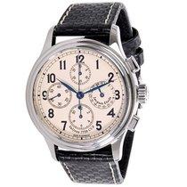 Jacques Etoile Monaco Quadriga Steel Chronograph
