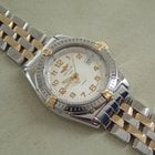 Breitling Lady Wings Stahl / Gold mit Stahl / Gold Pilotband,...