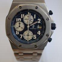 Audemars Piguet Royal Oak Offshore Titanium Bracelet Blue Dial