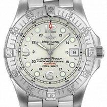 Breitling Aeromarine Superocean Steelfish Cream Dial Watch A17390