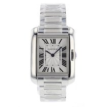 Cartier Tank Anglaise 34.7mm Stainless Steel  Watch
