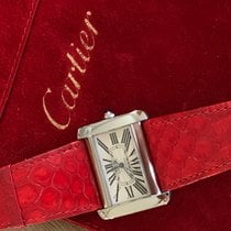 Cartier 2612 Tank Divan Stainless Steel Automatic w/ 4 Exotic...