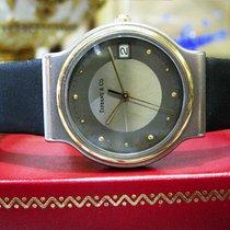 Tiffany & Co Titanium Gold Ladies 30mm Quartz Watch