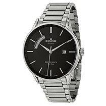 Edox Les Vauberts Day Date Automatic Men's Watch 83011-3N-NIN