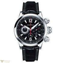 Jaeger-LeCoultre Master Compressor Chronograph Steel Leather...