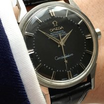 Omega Serviced Omega Constellation Pie Pan  black dial  Automatic
