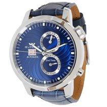 Glycine Airman 7  3919.18.LBK8 Men's Watch in Stainless Steel
