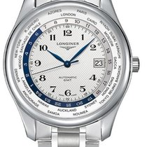 Longines Master Automatic GMT L2.802.4.70.6 Stainless Steel...