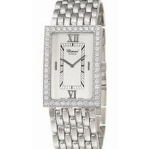 Chopard 143548-1002 Classiques 27mm in White Gold with Diamond...