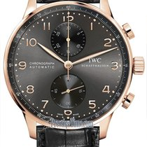 IWC IW371482 Portugieser Chronograph 40.9mm in Rose Gold - on...