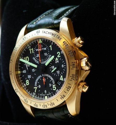 Fortis Cosmonauts Chronograph GMT Chronometer Limited Edition 100