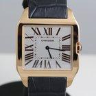 Cartier Santos Dumont 18K rose gold - mechanical winding -...
