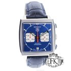 TAG Heuer Monaco Steve McQueen Blue Dial, Red Hands Steel -...