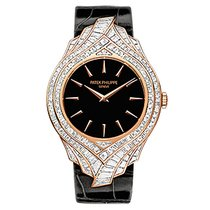 Patek Philippe 4895R-001 Rose Gold Ladies Calatrava 34mm [NEW]