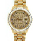 Rolex 18k Gold Day-date President Full Diamond 18238