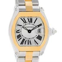 Cartier Roadster Ladies Steel Yellow Gold Quartz Watch W62026y4
