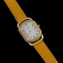 Hermès Midsize Rallye Ladies Watch - 18K Gold Plated &...