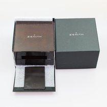 Zenith Uhrenbox mit Umkarton und Ledermäppchen