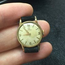 Omega Solo Tempo lady Manual Manuale gold oro 24 mm Gold plated