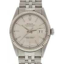 Rolex Men's Rolex Datejust Stainless Steel W/ Papers 16220