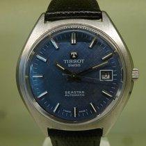 Tissot vintage seastar blue dial date auto ref 44900-1 cal 2481