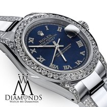 Rolex Women's 31m Rolex Oyster Perpetual Datejust Custom...