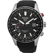 Seiko Herrenuhr Sportura GPS Solar World Time SSF007J1