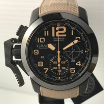 Graham Chronofighter PVD/Sahara on Rubber Strap NEW w/ B&P