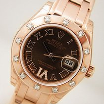 Rolex Masterpiece Chocolate Roman Diamond 80315