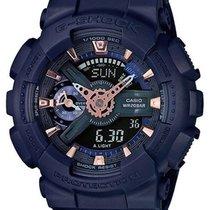 Casio Womens G-Shock S Series - Dark Blue Case & Strap -...