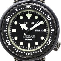 Seiko Prospex Marine Master Sbbn025 Steel Quartz Mens Watch...