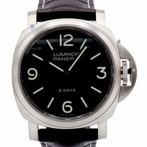 Panerai PAM00562 Luminor Base 8 Days Titanio 44MM Men Brown...