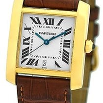 "Cartier ""Tank Francaise"" Automatic Strapwatch."