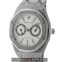 Audemars Piguet Royal Oak Day-Date Stainless Steel Silver Dial...