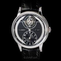 L.Leroy 18K WG Tourbillon Regulator Chronometer LL104-2
