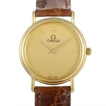 Omega Women's 18K Yellow Gold Quartz Watch 53718762
