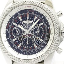 Breitling Polished Breitling Bentley B06 Steel Automatic Mens...