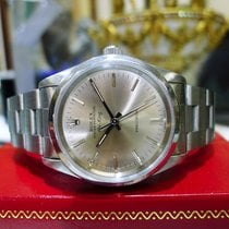 Rolex Airking Precision 1992 Stainless Steel Ref: 14000 Silver...