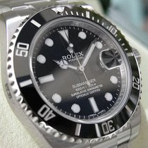 Rolex Submariner 116610 Ln Mens Stainless Steel Oyster Black...