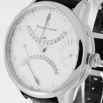 Maurice Lacroix Double Rétrograde GMT Stahl Ref. MP6518