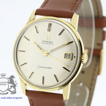 Omega Seamaster solid 18K Gold 166.001 Cal. 562 Papers from 1966