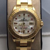 Rolex Yatch master gold 18k pearlmutt dial